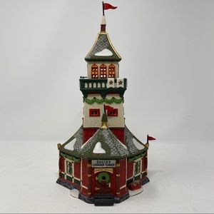 Department 56 Santa's Lookout Tower